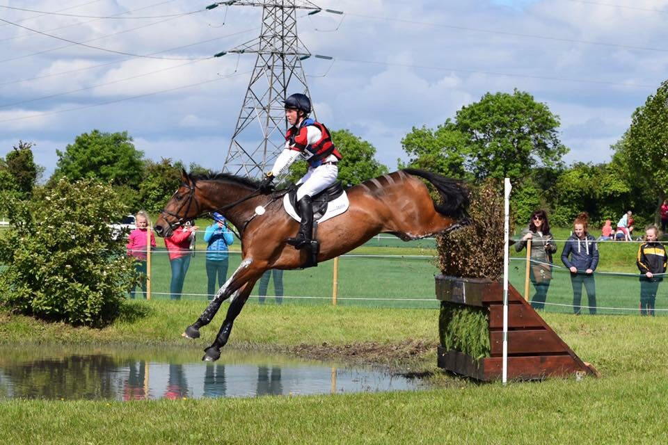 Flying Finish at Tattersalls in the CCI2 2